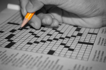solving a cross-word puzzle