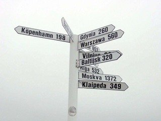 direction signs and fate changes our plans in life