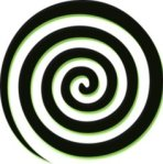 spiral graphics used in hypnotism
