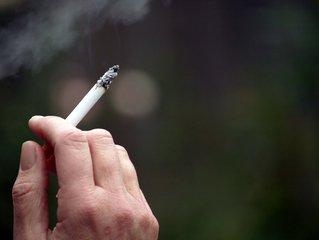 person smoking, a bad habit
