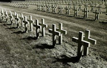 cemetery where the dead dwells