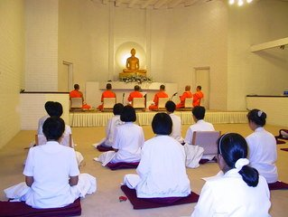people meditating for inner peace